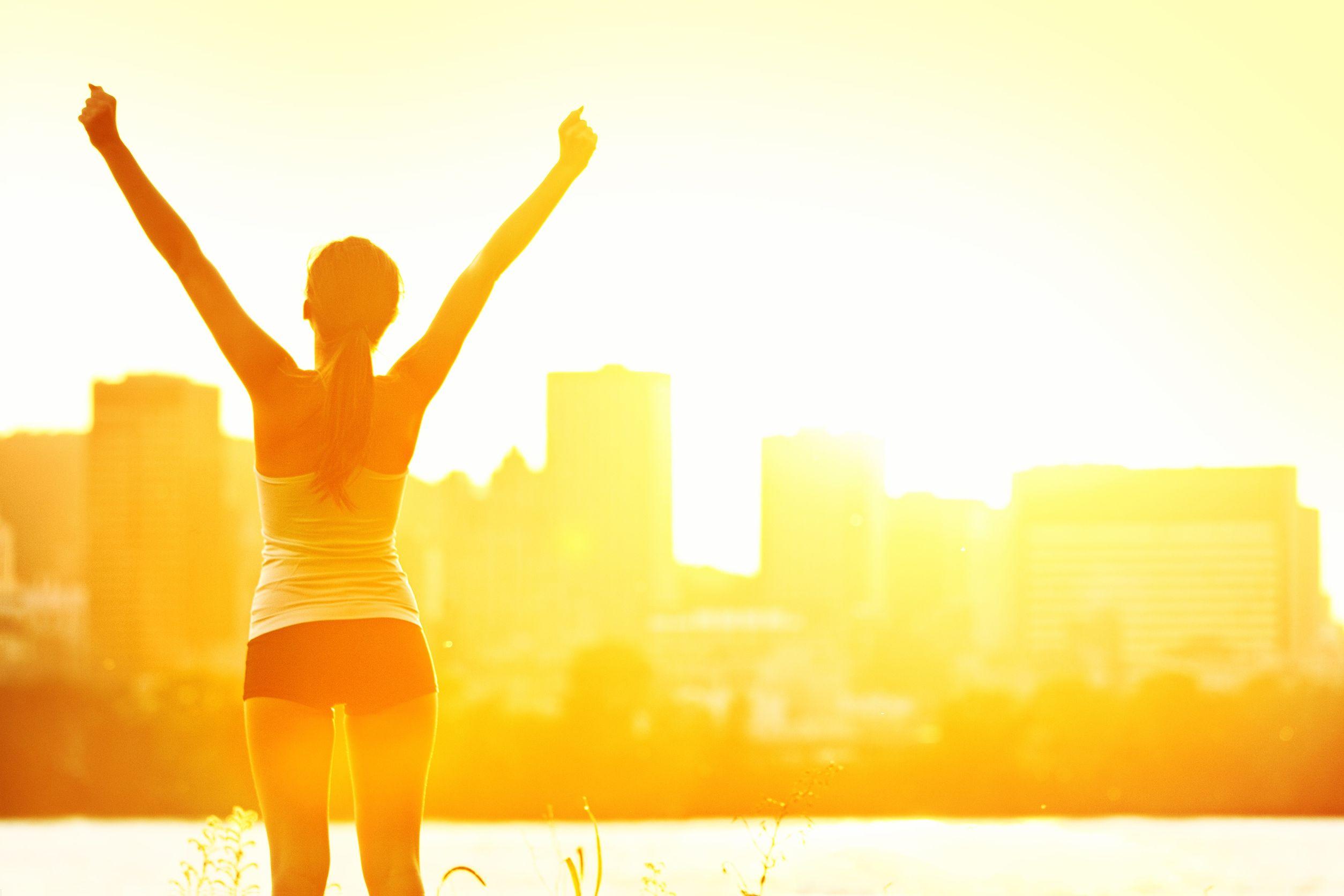 fitness winning sunshine